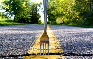 Fork in the road, get it?